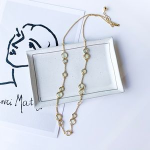 Kate Spade Crystal Long Necklace